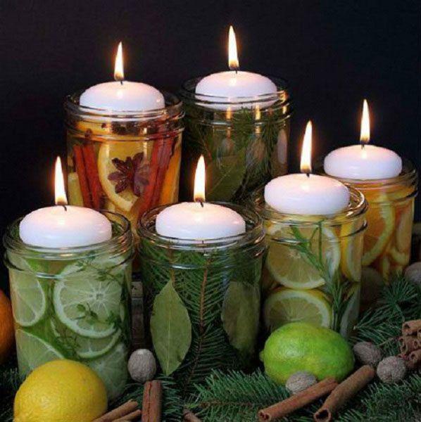 Фото:Свечи и освежители воздуха